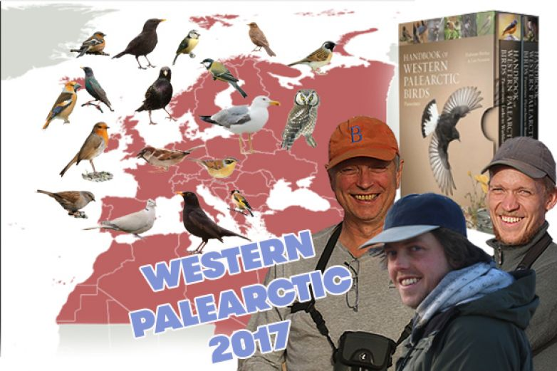 Birding the Western Palearctic 2017